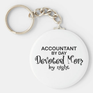Devoted Mom - Accountant Key Ring