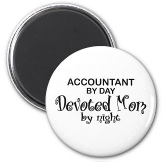 Devoted Mom - Accountant Magnet