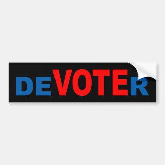deVOTEr Bumper Sticker