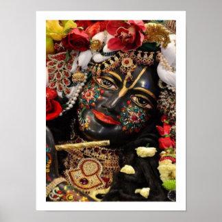 Devotion to Radha Krishna Poster