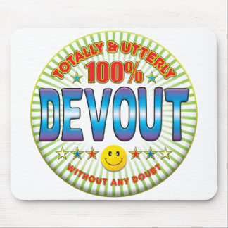 Devout Totally Mouse Pad