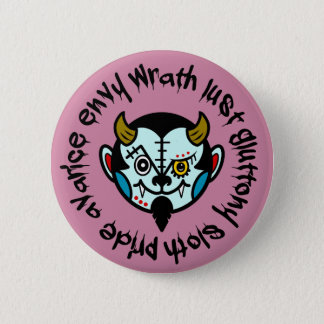 "DEVULL ""Seven Deadly Sins"" Button badges"
