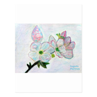 Dew and Smell of Almond Flowers Postcard
