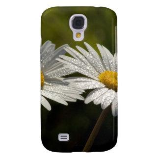 Dew Bejeweled Ox-eye Daisy Wildflowers HTC Vivid Cover
