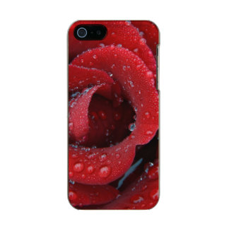 Dew covered red rose decorating grave site in incipio feather® shine iPhone 5 case