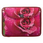 """Dew Drops on Rose 15"""" MacBook Sleeve Sleeves For MacBooks"""