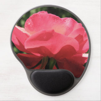 Dew Kissed Rose Gel Mouse Mat