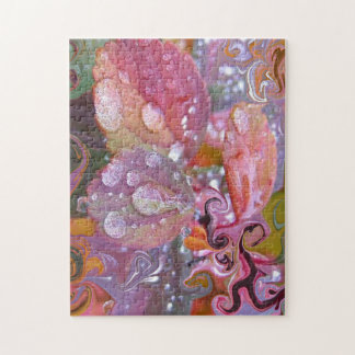 Dewdrop Abstract. Jigsaw Puzzle