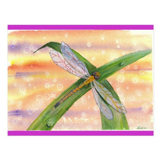 """""""Dewdrop Dragon"""" Postcard"""