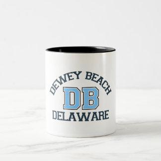 Dewey Beach. Two-Tone Coffee Mug
