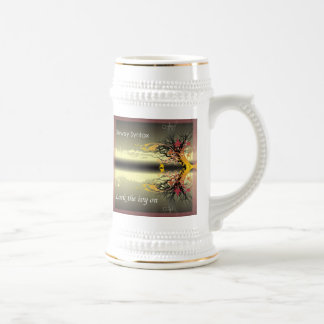 Dewey Syntax Beer Stien Mug