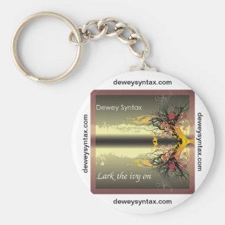 Dewey Syntax keychain