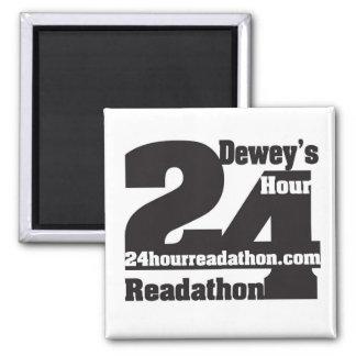 Dewey's 24 Hour Readathon Magnet