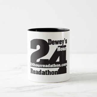 Dewey's 24 Hour Readathon Two Tone Mug