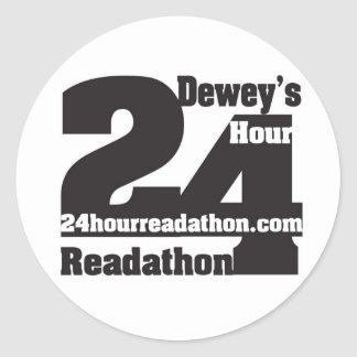 Dewey's Readathon Stickers