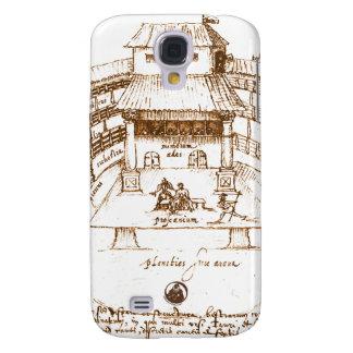 Dewitt s Swan Theatre Sketch Galaxy S4 Cover
