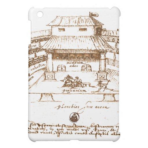 Dewitt's Swan Theatre Sketch iPad Mini Cases