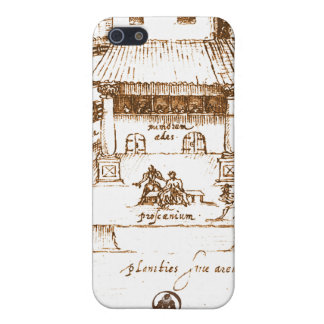 Dewitt's Swan Theatre Sketch iPhone 5/5S Cover