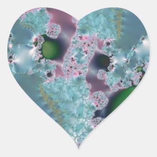 Dewy grass fractal stickers