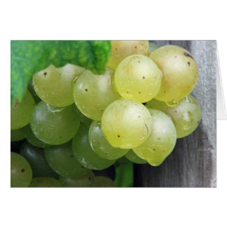 Dewy Green Grapes Card
