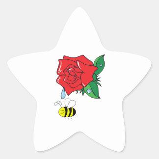 DEWY ROSE SHOWER STAR STICKER