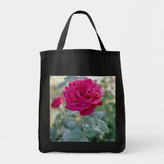 Dewy Rose tote Canvas Bags