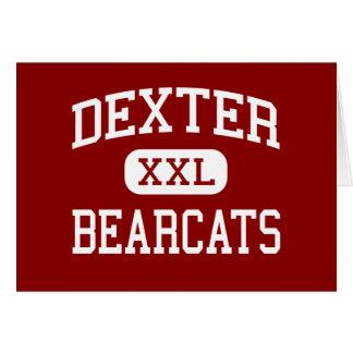 Dexter - Bearcats - High School - Dexter Missouri Greeting Card