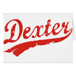 dexter greeting cards