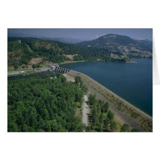 Dexter Lake and Dam Greeting Card