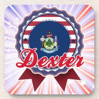Dexter, ME Beverage Coasters