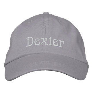 DEXTER Name Designer Cap Embroidered Baseball Cap