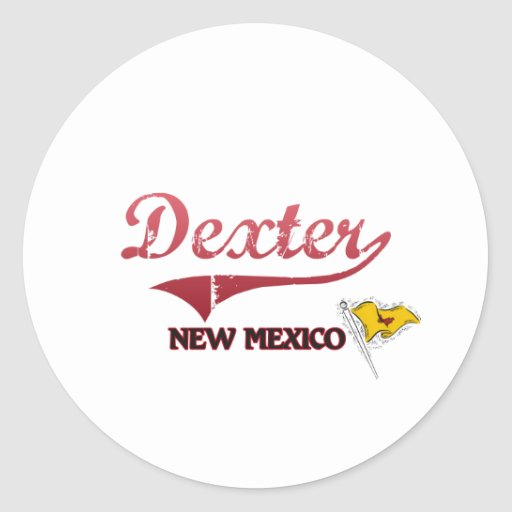 Dexter New Mexico City Classic Sticker