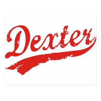dexter post card