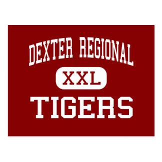 Dexter Regional - Tigers - High - Dexter Maine Postcard