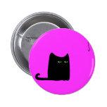 Dexter the Fat Black Button (customisable)