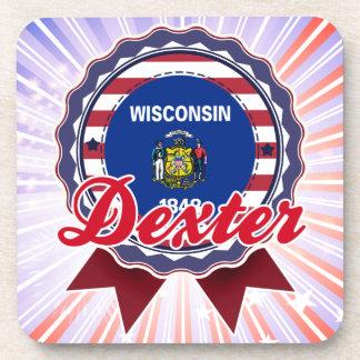 Dexter, WI Drink Coasters