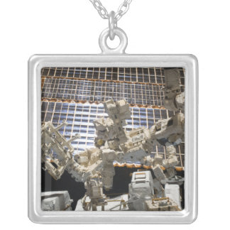Dextre Silver Plated Necklace