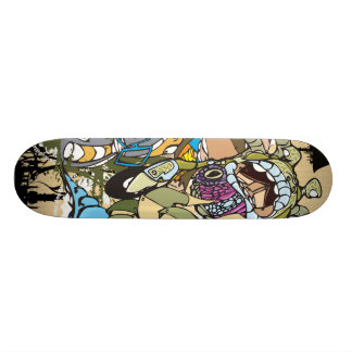 """Dezeinswell """"Entourage Part 2"""" Skateboard Deck"""