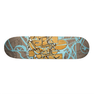 "Dezeinswell ""Fright Club"" Skateboard Deck"