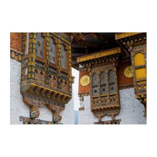 Dezong Architecture Acrylic Print