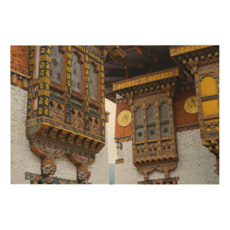 Dezong Architecture Wood Wall Art