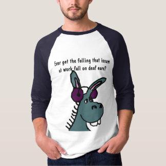 DF- Deaf Donkey Work Humor Shirt