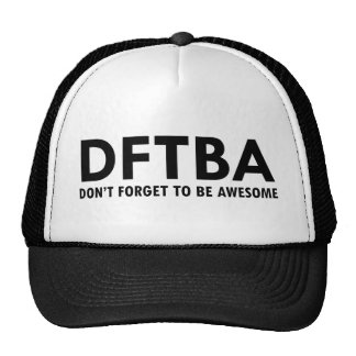 DFTBA MESH HAT