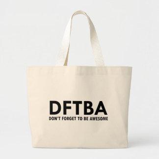DFTBA LARGE TOTE BAG