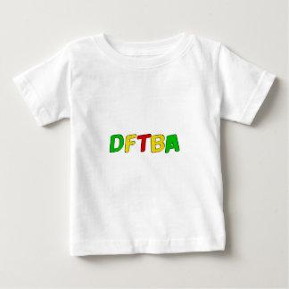 DFTBA Rasta Letters Baby T-Shirt