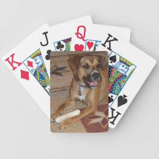 DG- Boxer Mix Playing Cards