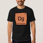 Dg - Dead Giveaway Chemistry Element Symbol Meme T Tshirt