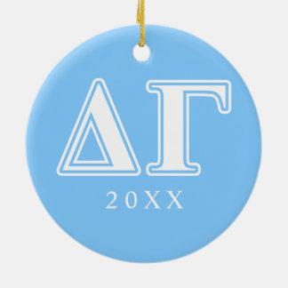 DG Letters Christmas Ornament