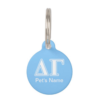 DG Letters Pet ID Tag