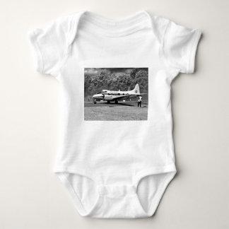DH104 Devon aircraft Baby Bodysuit